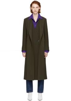 Ports 1961 Khaki Layered Overcoat