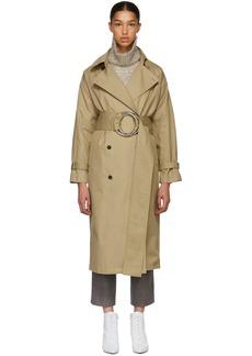 Ports 1961 Khaki Twill Trench Coat
