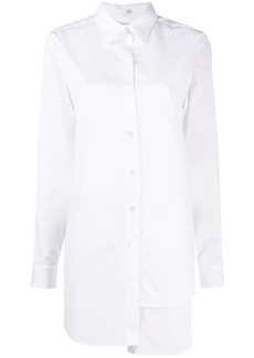 Ports 1961 layered asymmetric buttoned shirt