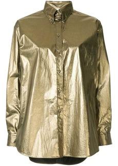 Ports 1961 metallic button-down shirt
