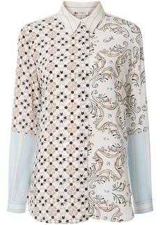 Ports 1961 multi-print long-sleeved shirt