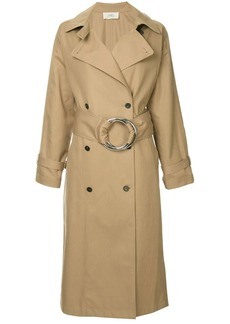 Ports 1961 O-ring belted trench coat