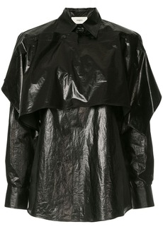 Ports 1961 sheen layered shirt