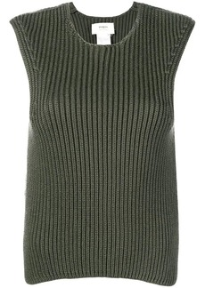 Ports 1961 sleeveless ribbed jumper