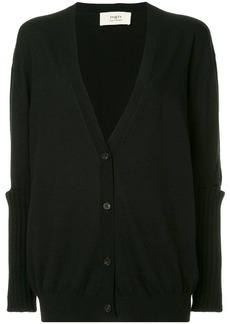 Ports 1961 slit elbow knitted cardigan