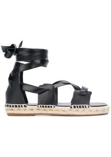 Ports 1961 tie around espadrille sandals