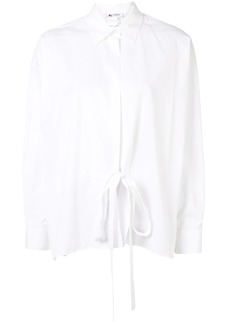 Ports 1961 tie-front shirt