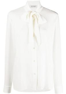 Ports 1961 tie neck silk blouse