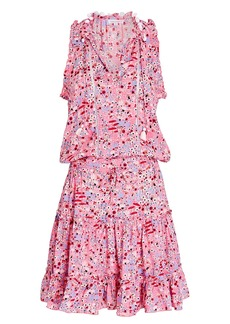 Poupette St Barth Clara Sleeveless Floral Dress