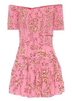 Poupette St Barth Exclusive to Mytheresa – Soledad floral minidress