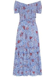 Poupette St Barth Exclusive to Mytheresa – Soledad printed maxi dress