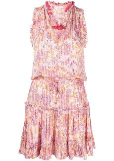 Poupette St Barth floral shift dress