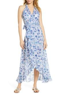 Poupette St Barth Tamara Cover-Up Wrap Dress