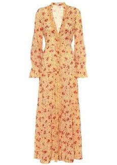 Poupette St Barth Rita floral cotton maxi dress