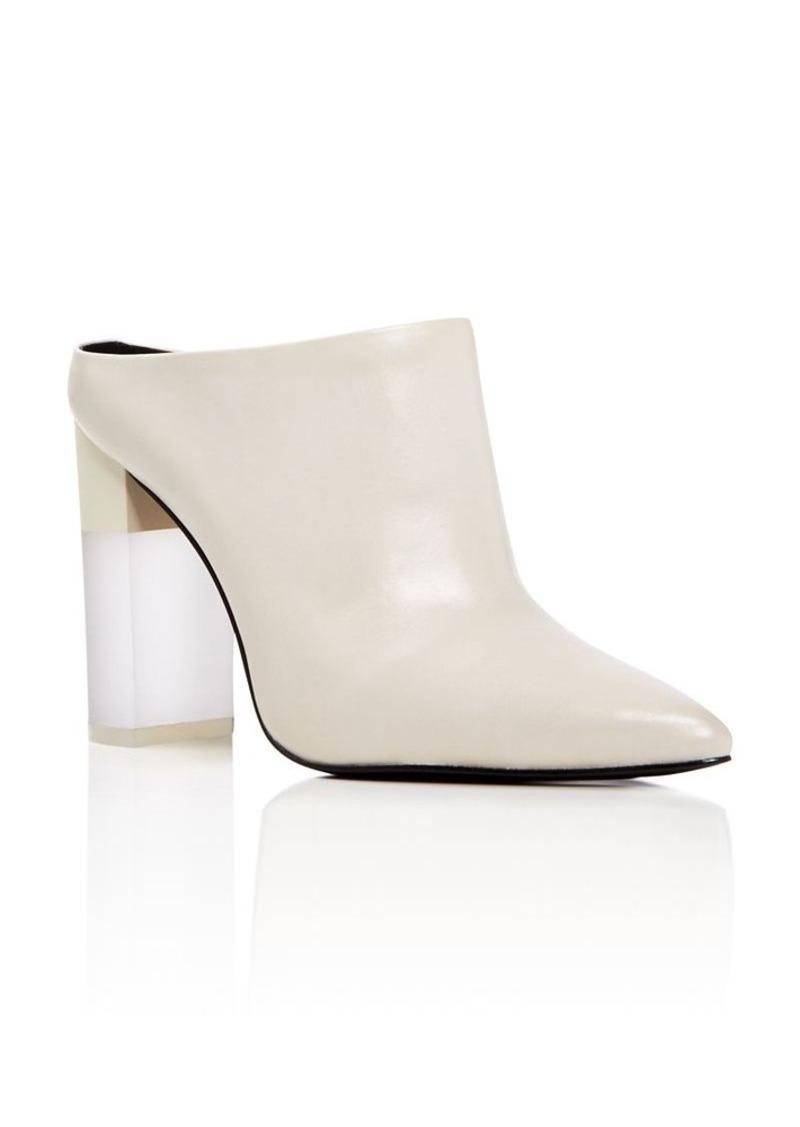 Pour La Victoire Capri Pointed Toe High Heel Mules