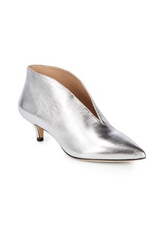 Pour La Victoire Kora Nappa Leather Kitten Heels