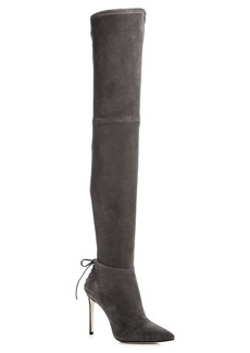 Pour La Victoire Women's Caterina Suede Over-the-Knee Boots