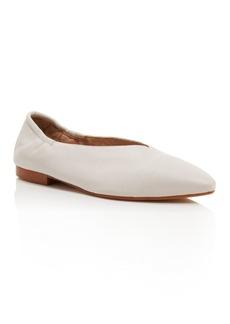 Pour La Victoire Women's Leather Pointed Toe Flats