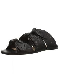 Pour La Victoire Women's Logan Flat Sandal   Medium US