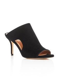 Pour La Victoire Zandra Cutout High Heel Slide Sandals