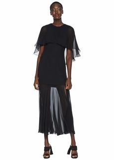 Prabal Gurung Ariette Cape Dress