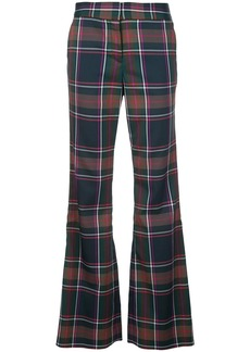 Prabal Gurung checked bootcut trousers