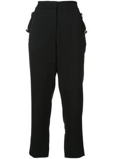 Prabal Gurung cropped high-waist trousers