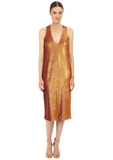 Prabal Gurung Dusted Paillette Sleeveless Dress