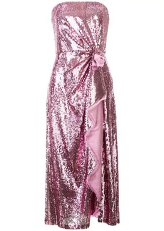 Prabal Gurung embellished strapless dress