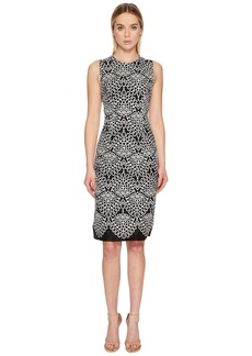 Prabal Gurung Embroidered Organza Sleeveless Dress