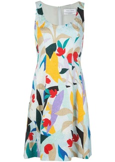 Prabal Gurung flared sleeveless dress