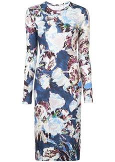 Prabal Gurung floral long-sleeve dress
