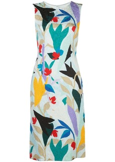 Prabal Gurung floral-print sleeveless sheath dress