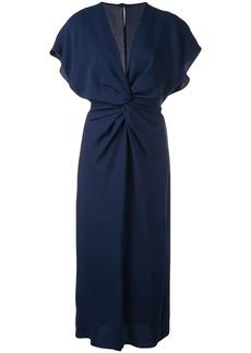 Prabal Gurung Jackie knot detail dress