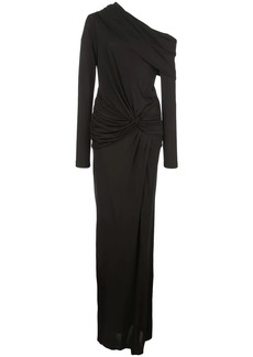 Prabal Gurung off the shoulder twist wait gown