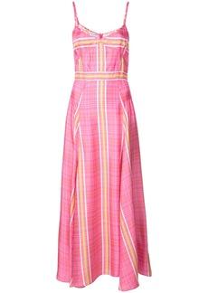 Prabal Gurung Alicia Tank dress - Pink & Purple