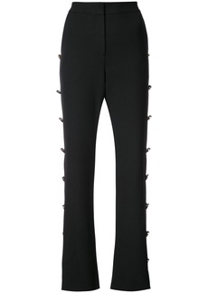 Prabal Gurung button embellished flared trousers - Unavailable