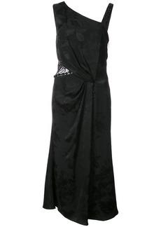 Prabal Gurung embroidered lace dress - Black