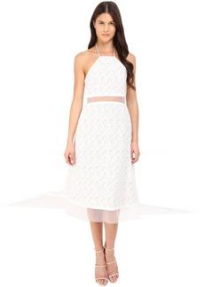 Prabal Gurung Fils Coupe Cotton Illusion Sleeveless Dress