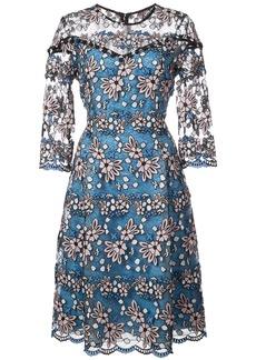 Prabal Gurung Fit & Flare lace dress