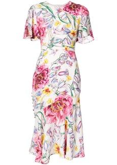 Prabal Gurung floral dress - Multicolour