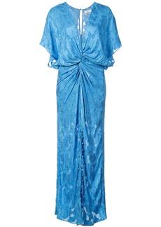 Prabal Gurung Jackie knot front dress - Blue