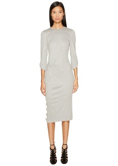 Prabal Gurung Jersey 3/4 Sleeve Dress