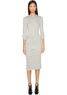 Prabal Gurung Jersey 3/4 Sleeve Dress