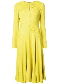 Prabal Gurung keyhole twist dress - Yellow & Orange