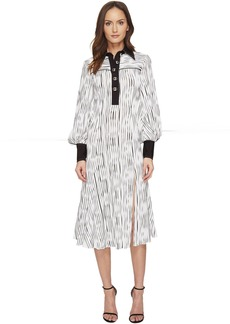 Prabal Gurung Long Sleeve Polo Dress