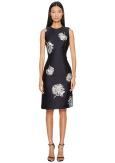 Prabal Gurung Lurex Jacquard Sleeveless Dress