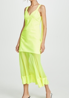 Prabal Gurung Maghi Combo Tank Dress