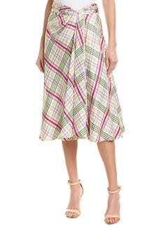 Prabal Gurung Moore Silk Skirt