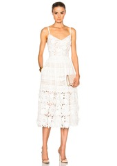 Prabal Gurung Multi Eyelet Dress